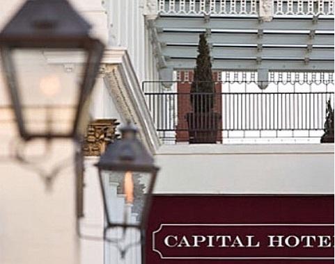 Luxury boutique hotel in Little Rock, AR – Capital Hotel